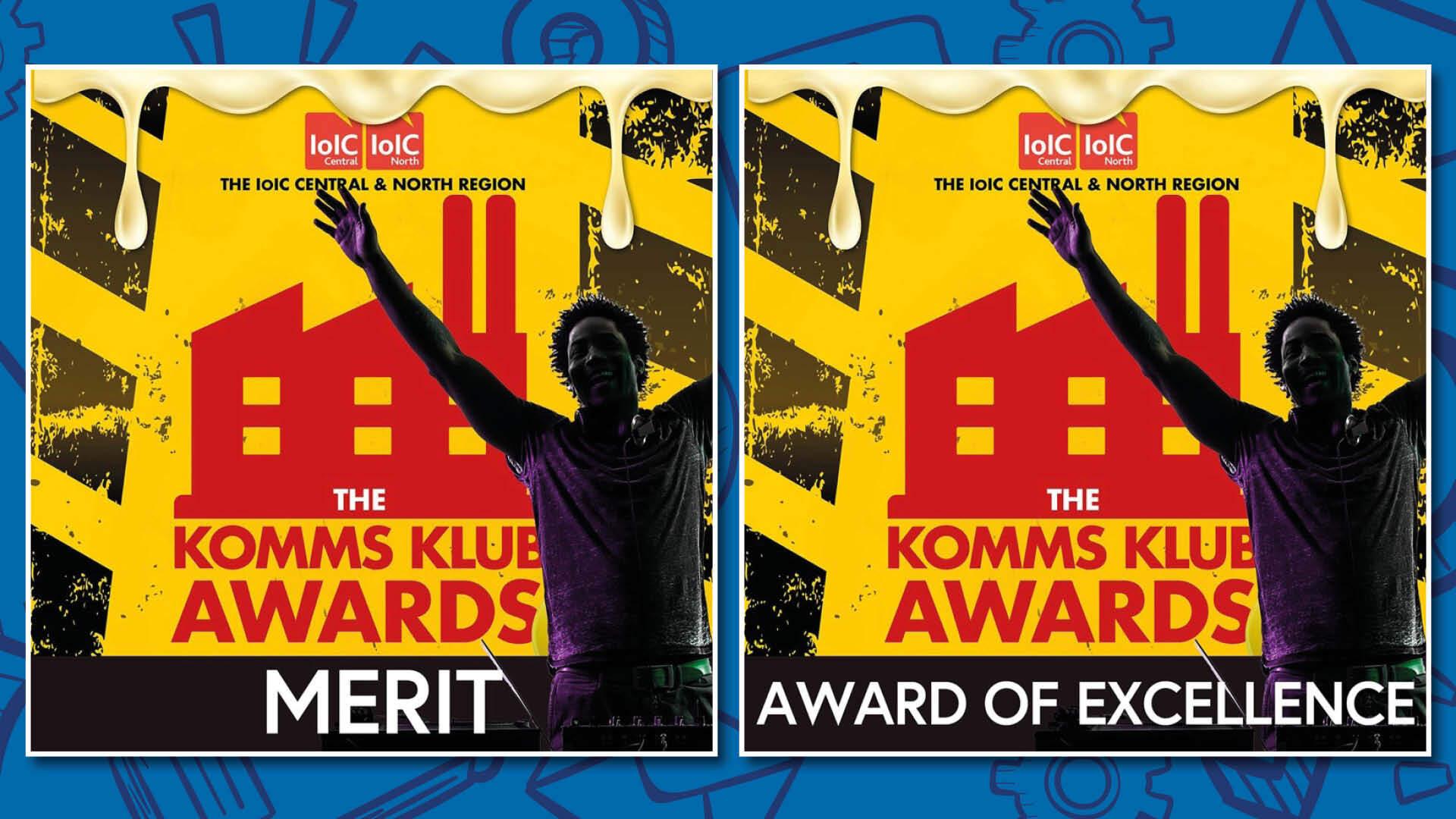 ioic awards logos